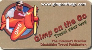 Gimp On The Go Travel Tag