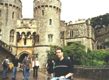 Jon at Windsor Castle