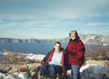 Richard and Vera at Crater Lake